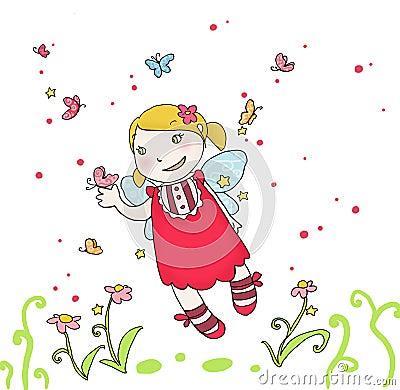 Butterflies fairy