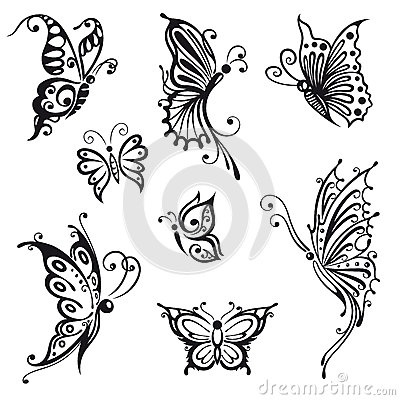 Butterflies, insects