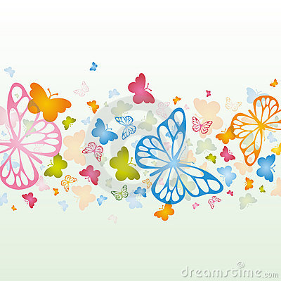 Free Butterfly Background Royalty Free Stock Image - 19886776