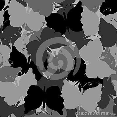 Free Butterfly Camouflage Seamless Vector Pattern Royalty Free Stock Photos - 72514068