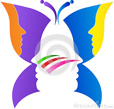 Free Butterfly Face Royalty Free Stock Photos - 36308128