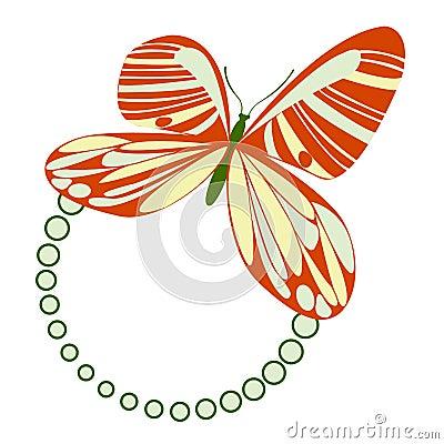 Butterfly Frame Green