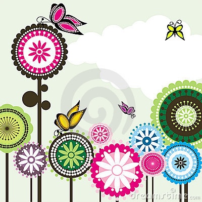 Free Butterfly Love Seamless Paisley Flower 2 Stock Images - 13138214