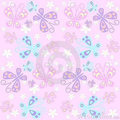 butterfly pattern seamless
