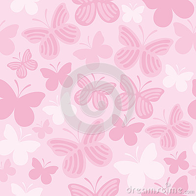 Free Butterfly Seamless Pattern Royalty Free Stock Photos - 28572988