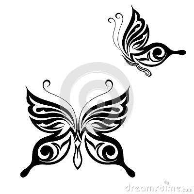 Butterfly tattoo style