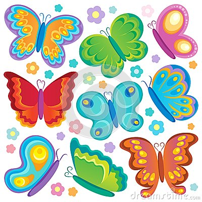 Butterfly theme collection