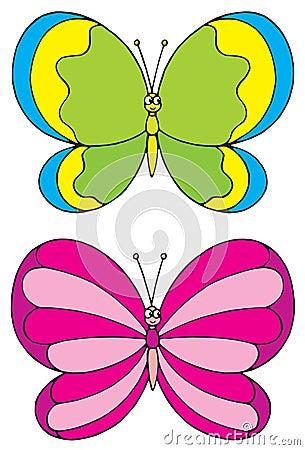 Butterfly (vector clip-art)