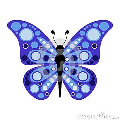Butterfly vector illustration Vector Illustration