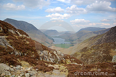 Buttermere and valley from Haystacks