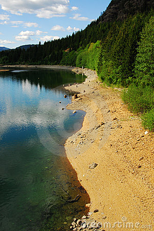 Free Buttle Lake Shore Stock Images - 5299654