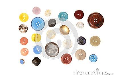 Button cloth