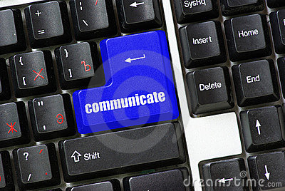 Button of communicate
