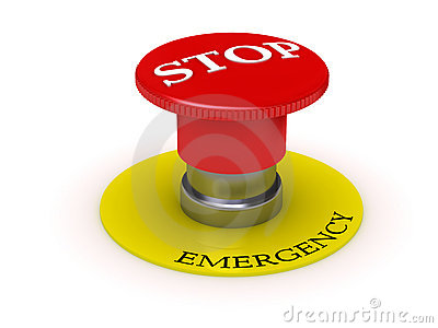 Button - emergency STOP