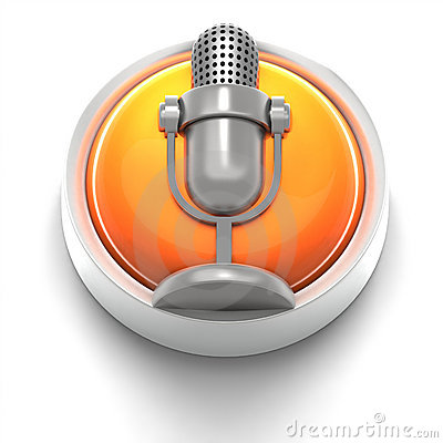 Button Icon: Mic