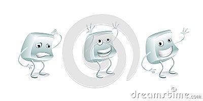 Button mascot