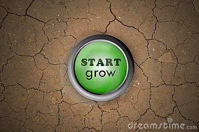 Button start grow