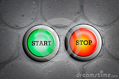Button start and stop