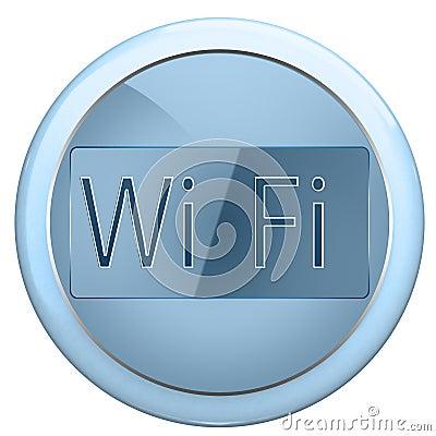 Button wi fi