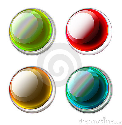Free Buttons Royalty Free Stock Image - 1079626