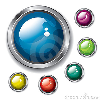 Free Buttons Royalty Free Stock Image - 10843706