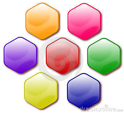 Free Buttons Royalty Free Stock Photography - 3863197