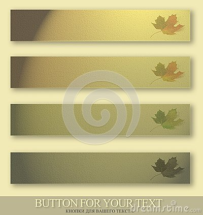Free Buttons For Menu Royalty Free Stock Photography - 27105727