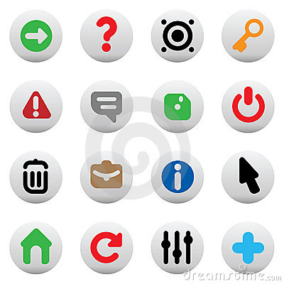 Buttons for interface