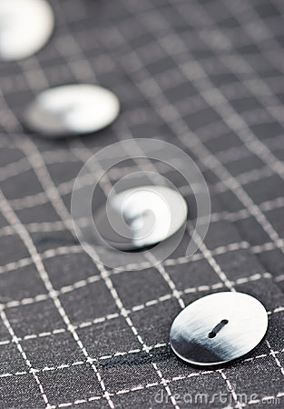Buttons on jacket