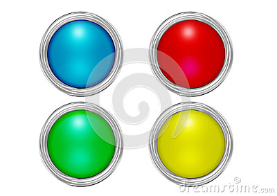 Buttons mat colors