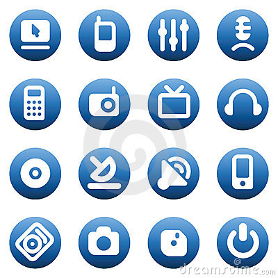 Buttons for media devices