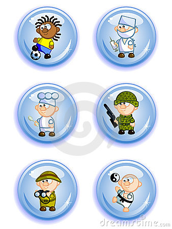 Buttons professions