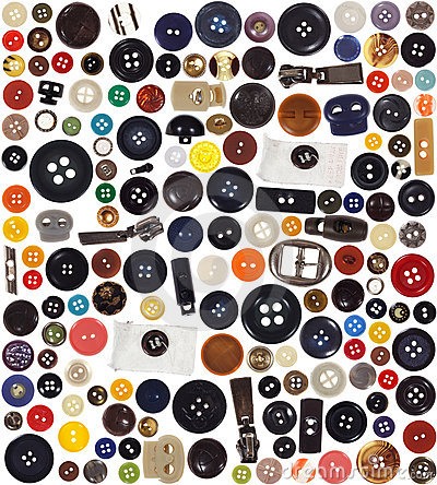 Free Buttons - Set Royalty Free Stock Image - 7537436