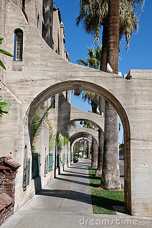 Buttress perspective