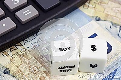 Buy Canadian dollar