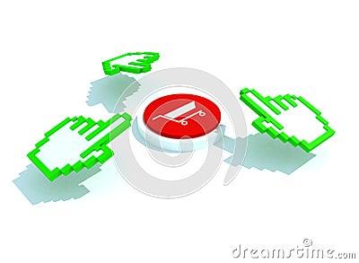 Buy click hand cursors