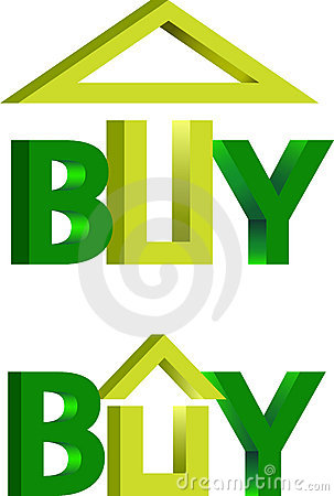 Buy house logo