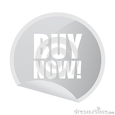 Buy now sticker
