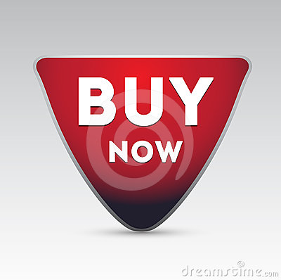 Buy now vector button
