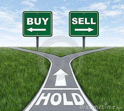 Buy and sell or hold decision dilemma crossroads of financial ...: www.dreamstime.com/stock-image-buy-sell-hold-image22468311