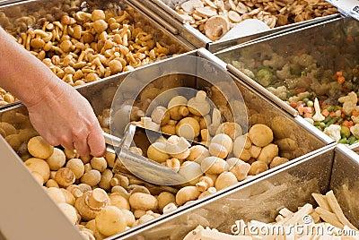 Buying frozen mushrooms