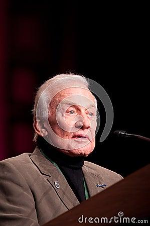 Buzz Aldrin Editorial Image