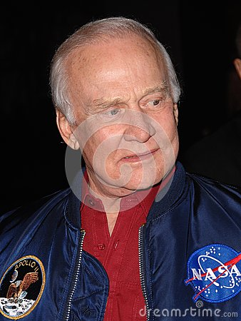 ,Buzz Aldrin Editorial Stock Photo