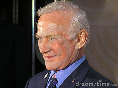 Buzz Aldrin Editorial Stock Photo