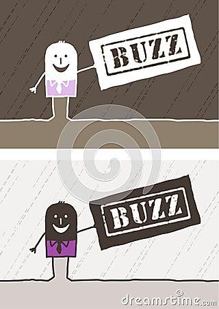 Buzz colored cartoon