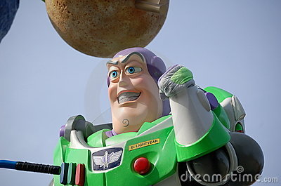 Buzz Lightyear Editorial Photography