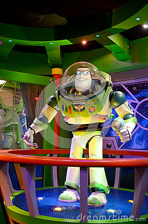 Disney Buzz lightyear Editorial Photo
