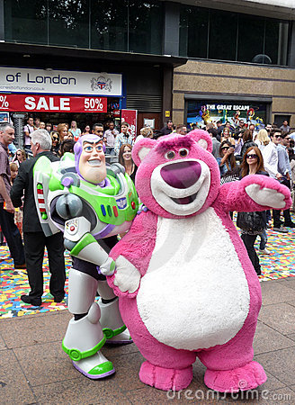 Buzz Lightyear at Toy Story 3 Premiere Editorial Photography