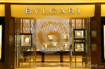 Bvlgari boutique Editorial Photography