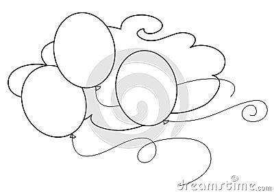 BW balloons